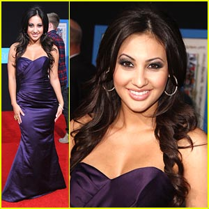 Francia Raisa: Purple 'Prom' Princess