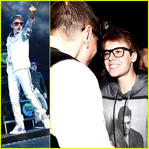 Justin Bieber: D&G Gold Guy