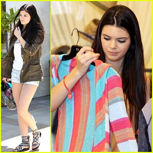 Kendall & Kylie Jenner: Summer Shopping Spree!