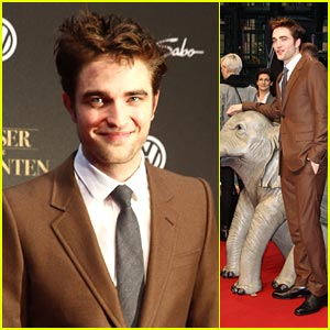 Robert Pattinson: 'Water For Elephants' Premiere in Berlin!