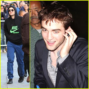 Robert Pattinson Live on Robert Pattinson  Jimmy Kimmel Live    Robert Pattinson   Just Jared