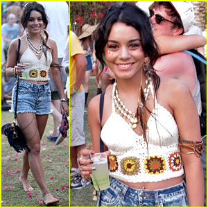Vanessa Hudgens: Last Day at Coachella!