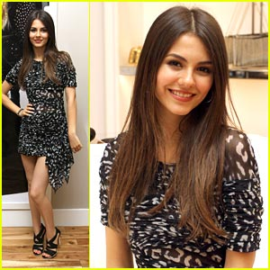 Victoria Justice: Prom Hostess with BCBG Max Azria!