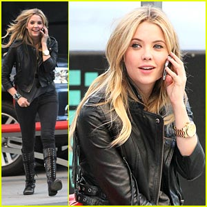 Ashley Benson: Staples Center Sweet Talker