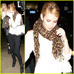 Emma Roberts is Camera Shy
