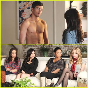 Ian Harding: Shirtless for 'Pretty Little Liars' Season Two!
