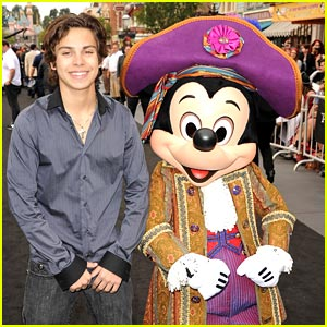 Jake T Austin Is Definitely Down For A Wizards of