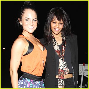 JoJo &#038; Fefe Dobson: Prince Concert Pals