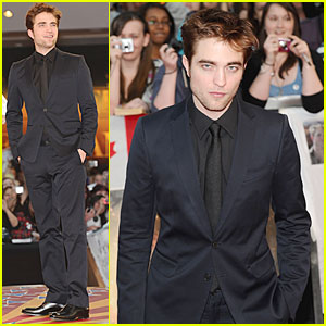 Robert Pattinson: 'Water for Elephants' UK Premiere!