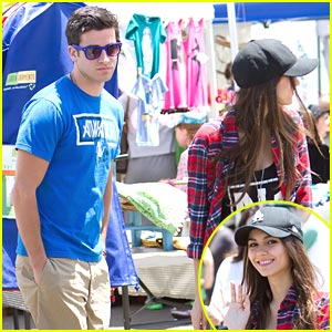 Victoria Justice: Farmer's Market with Ryan Rottman!