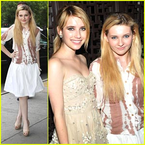 Abigail Breslin 'Gets By' with Emma Roberts