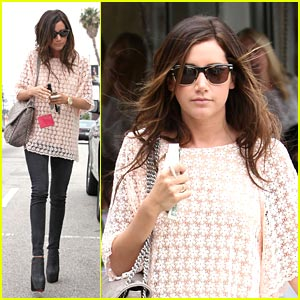 Ashley Tisdale: Flower Power!