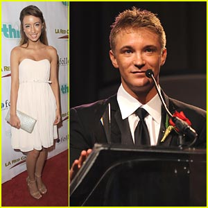 Christian Serratos: Thirst Gala with Michael Welch!