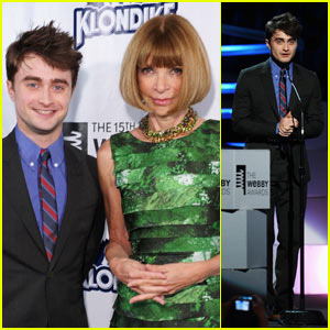Daniel Radcliffe: Webby Presenter