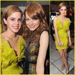 Emma Watson Meets Emma Stone!