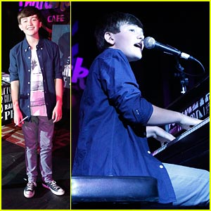 Greyson Chance: 'Hold On Til The Night' Listening Party!