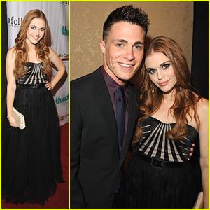 Holland Roden & Colton Haynes: Thirst Gala 2011