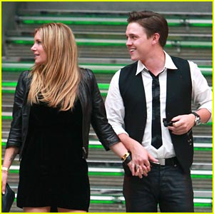 Jesse McCartney: Delphine Lunch Date