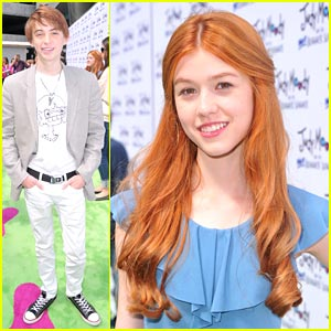 Katherine McNamara: 'Judy Moody' with Dylan Riley Snyder!