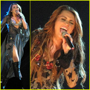 Miley Cyrus Brings 'Gypsy Heart' to Brisbane