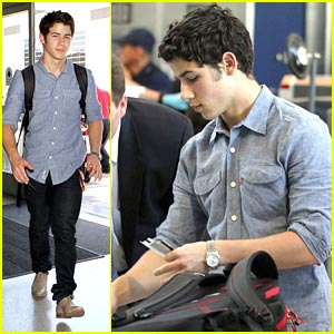 Nick Jonas: Taking Off Again...