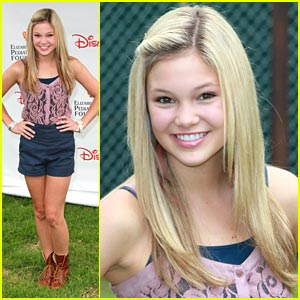 Olivia Holt is 'Kickin' It' at the Time For Heroes Picnic
