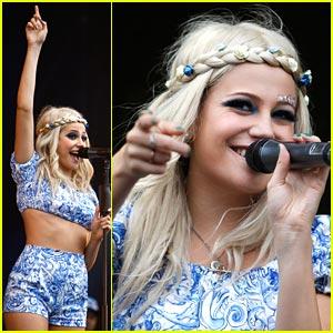 Pixie Lott: Isle of Wight Festival!