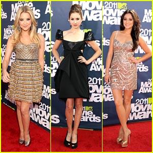 Ashley, Troian & Shay: 'Liars' at MTV Movie Awards 2011