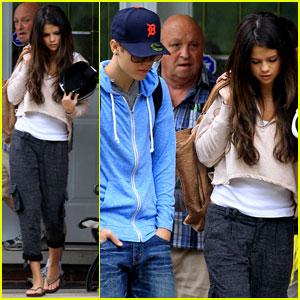 Selena Gomez &#038; Justin Bieber: To Grandparents' House We Go!