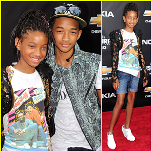 Willow & Jaden Smith: 'Transformers' Duo