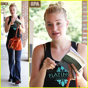 AJ Michalka: 'Salem Falls' Star!