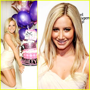 Ashley Tisdale: PURE Birthday Party!
