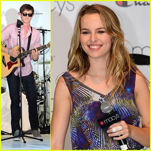 Bridgit Mendler &#038; Shane Harper: Good Luck Macy's