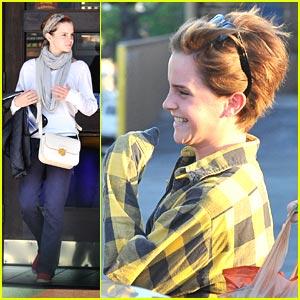 Emma Watson is a Movie Buff