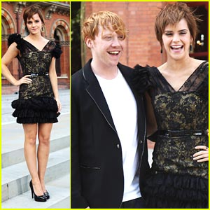 Rupert Grint &#038; Emma Watson: Harry Potter Photocall!