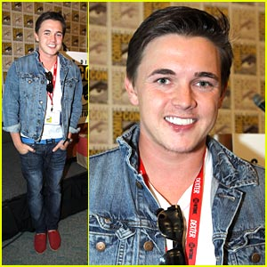 Jesse McCartney: Locke & Key at Comic-Con!