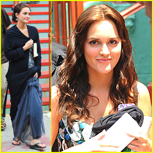 Leighton Meester: Ballgown Beauty!