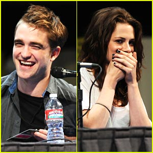 Kristen, Rob & Taylor: Breaking Dawn Panel at Comic-Con!