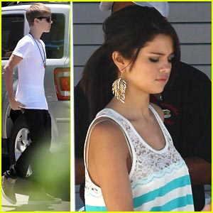 Selena Gomez: Studio Time with Justin Bieber!