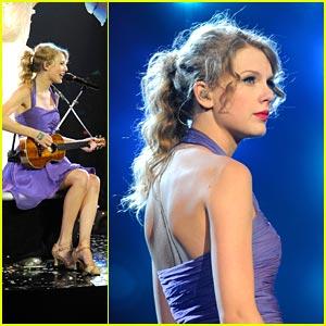 Taylor Swift 'Dances In The Dark' in Newark