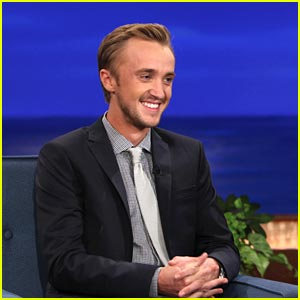 Tom Felton: 'Drarry' Fan Art on Conan!