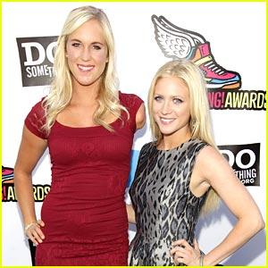 Brittany Snow & Bethany Hamilton -- Do Something Awards 2011