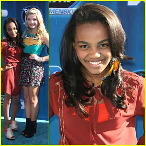 China Anne McClain &#038; Stefanie Scott: ANTS in the '2nd Dimension'
