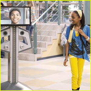 China Anne McClain Goes On a Digital Date