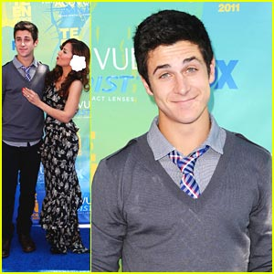 David Henrie & Maria Canals-Barrera: Teen Choice Awards Twosome