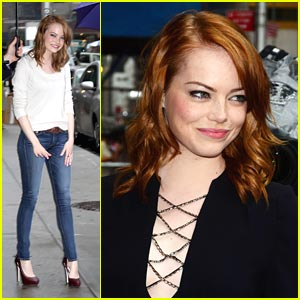 Emma Stone Goes To The White House