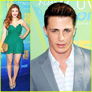 Holland Roden & Colton Haynes -- Teen Choice Awards 2011