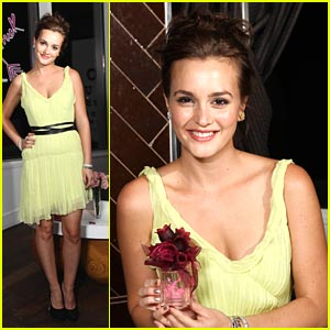 Leighton Meester: 'Lovestruck' Launch in NYC