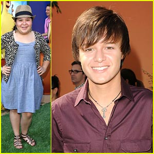 Nolan Sotillo & Raini Rodriguez: 'The Lion King' Premiere Pair