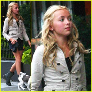 Peyton List Walks Windsor